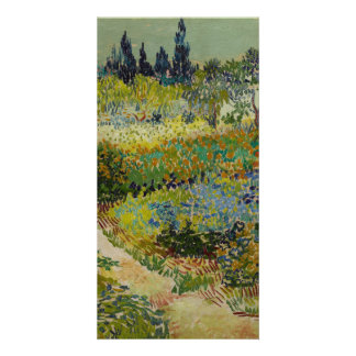 Garden at Arles by Vincent Van Gogh Customised Photo Card