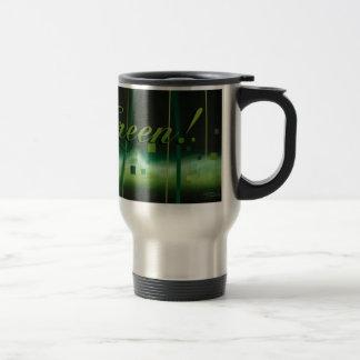 Garden at Night (go green) Travel Mug