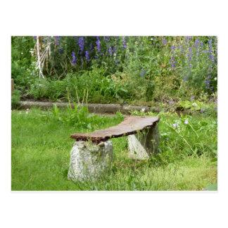 Garden bank postcard