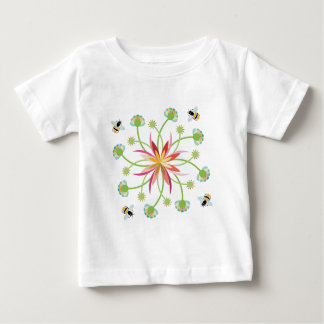 Garden Bees Baby T-Shirt