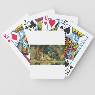 Garden Bicycle Playing Cards