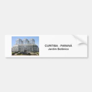 Garden Botanist - Curitiba - Paran3a Bumper Sticker