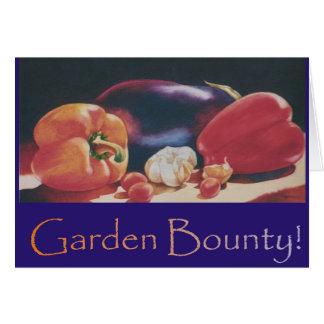 Garden Bounty Greeting Card