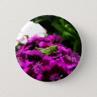 Garden Bouquet 6 Cm Round Badge