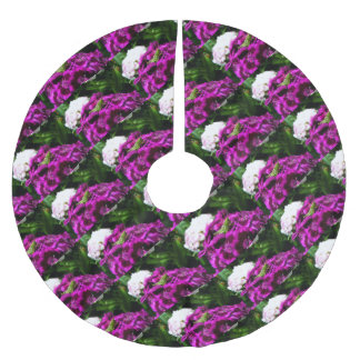 Garden Bouquet Brushed Polyester Tree Skirt