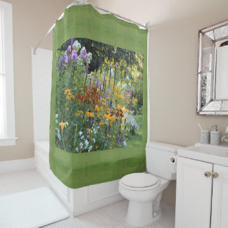 Garden Bouquets Along the Pathway! Shower Curtain