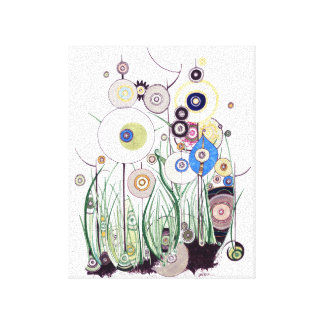 Garden Bramble canvas Canvas Print