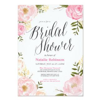 Garden Bridal Shower Invitation