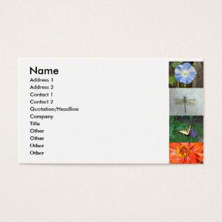 garden business card... business card