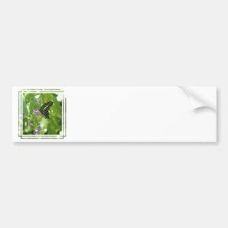Garden Butterfly Bumper Sticker