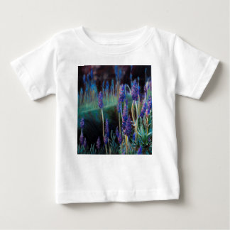 Garden By the Pond at Twilight Baby T-Shirt