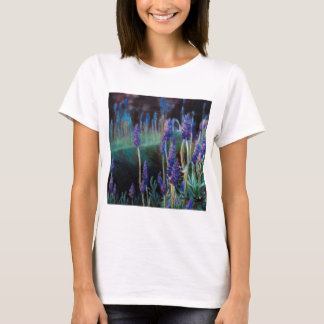 Garden By the Pond at Twilight T-Shirt