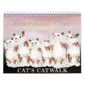 Garden Cat 2017 Calendar
