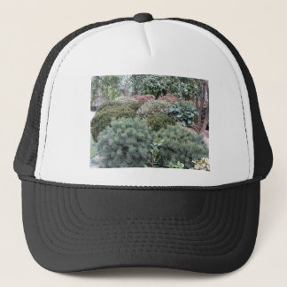 Garden centre with selection of nursery plants trucker hat