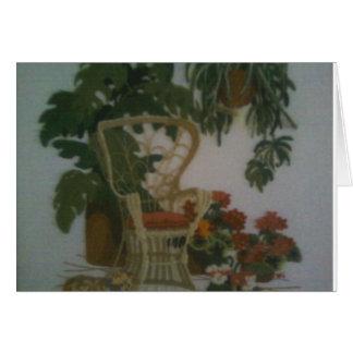 Garden Chair Card
