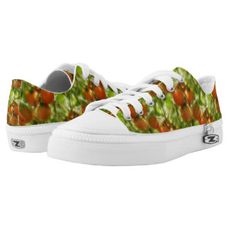 Garden Cherry Tomatoes Nature Pattern Low Tops