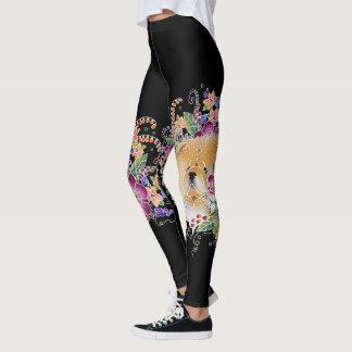 GARDEN DANCE CHOW - Art is  BOOT HIGH  leggings