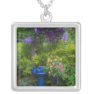 Garden designs in our Garden Sammamish, 2 Square Pendant Necklace