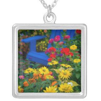 Garden designs in our Garden Sammamish, 3 Square Pendant Necklace