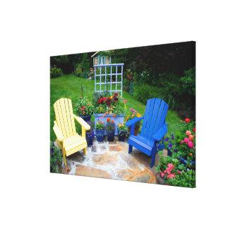 Garden designs in our Garden Sammamish, 4 Gallery Wrap Canvas