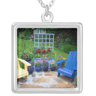 Garden designs in our Garden Sammamish, 4 Square Pendant Necklace