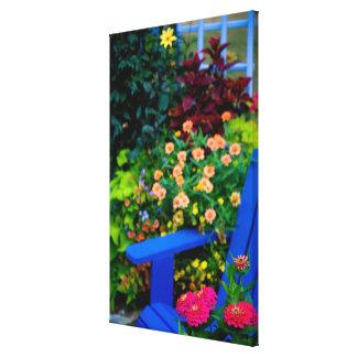 Garden designs in our Garden Sammamish, Canvas Print