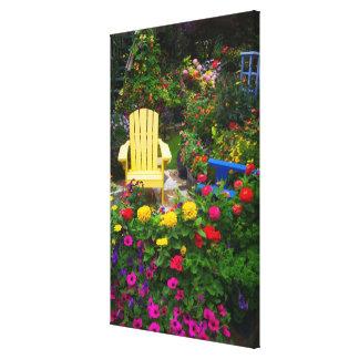 Garden designs in our Garden Sammamish, Canvas Prints
