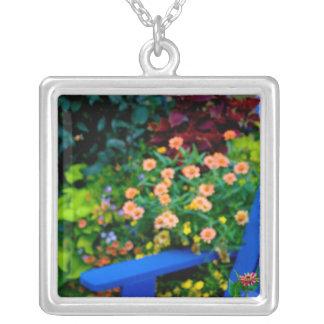 Garden designs in our Garden Sammamish, Square Pendant Necklace