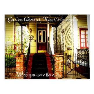Garden District, New Orleans La Postcard