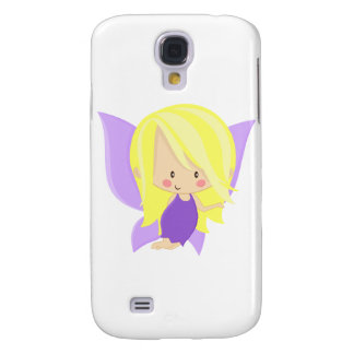 Garden Fairy- Purple and Yellow Samsung Galaxy S4 Cover