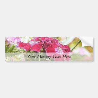 Garden Fantasy - Sweet Williams Bumper Sticker