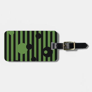 Garden Fence Personalized Luggage Tag