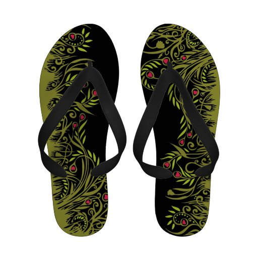 Garden Flip Flops for Mom