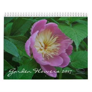 Garden Flowers 2017 Calendar