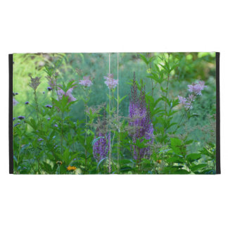 Garden Flowers iPad Folio Cover