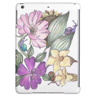 garden flowers i-pad air case