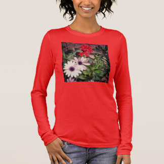 GARDEN FLOWERS SHIRT LONG