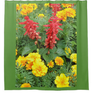Garden Flowers Shower Curtain