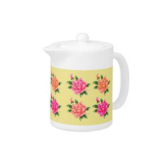 Garden Flowers Teapot