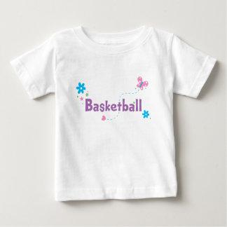 Garden Flutter Basketball T-shirts