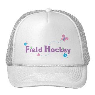 Garden Flutter Field Hockey Trucker Hats