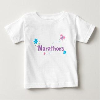 Garden Flutter Marathons Baby T-Shirt