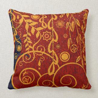 Garden for Gustav Art Nouveau Decor Pillow