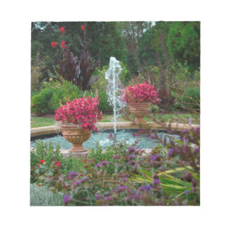 Garden Fountain Notepad
