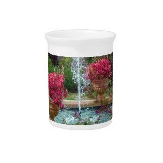 Garden Fountain Pitcher
