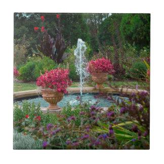 Garden Fountain Tile
