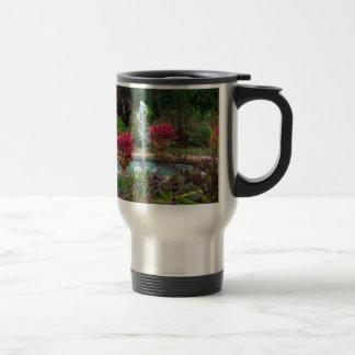 Garden Fountain Travel Mug