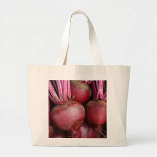 Garden Fresh Bunch of Beets Large Tote Bag