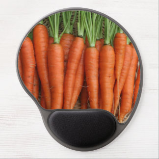 Garden Fresh Heirloom Carrots Gel Mouse Pad