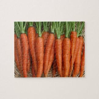 Garden Fresh Heirloom Carrots Jigsaw Puzzle